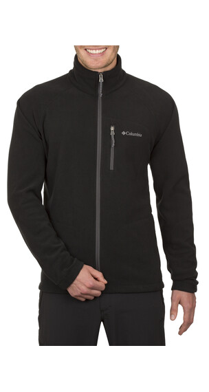 Columbia Fast Trek II fleecejakke Herrer Full Zip sort